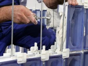 Kit montaggio vetromattone tradizionale, accessori per ...