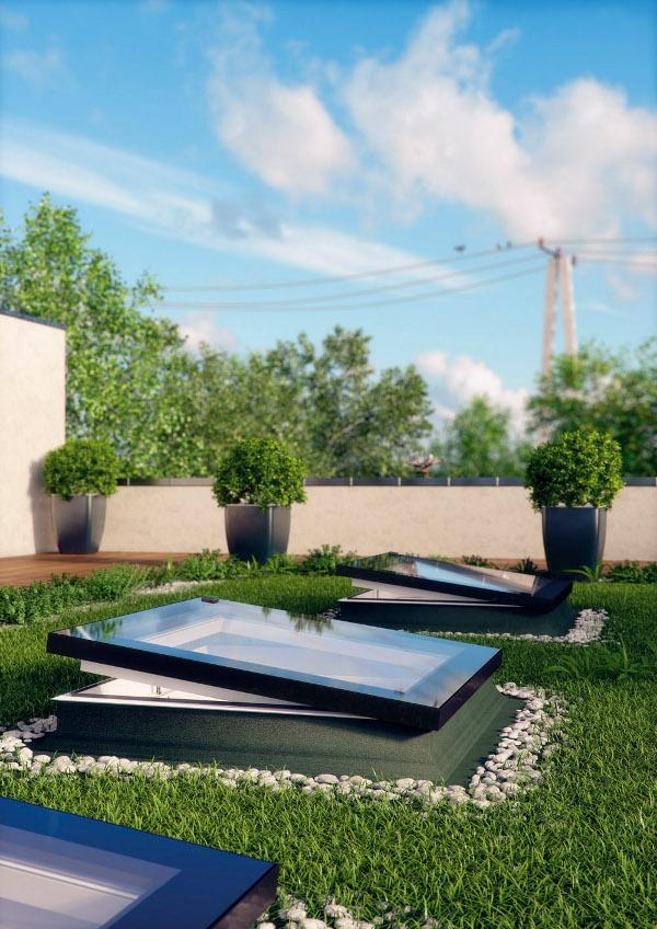 Finestra da tetto o terrazzo piano dxf fakro vendita online for Finestre fakro