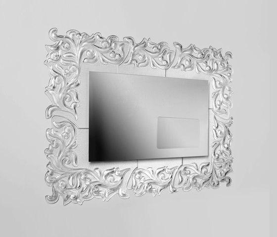 Vendita on line specchio in vetro fatto a mano retroilluminato per locale o bar - Specchi on line ...