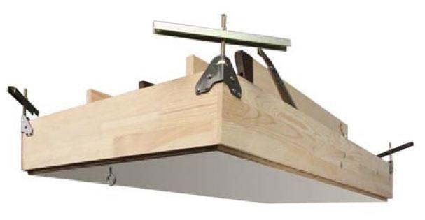 Scaletta In Legno Pieghevole : Scala retrattile a pezzi con scalini di legno modello lws smart