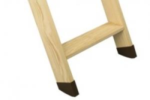 Scaletta In Legno Pieghevole : Piedini per scala retrattile in legno fakro