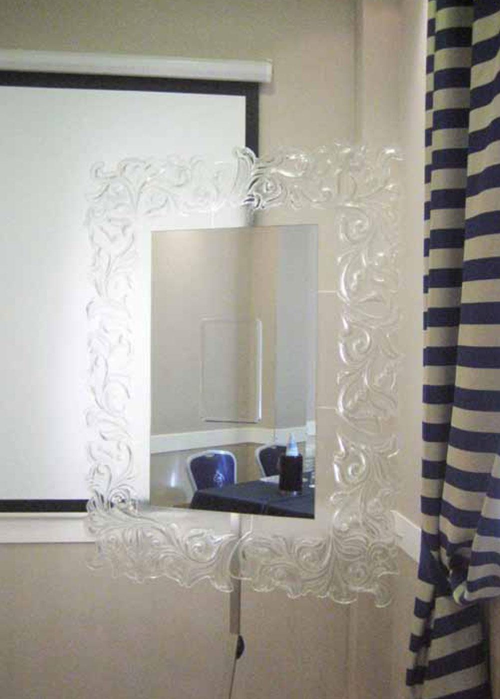 Vendita On Line Specchio In Vetro Fatto A Mano