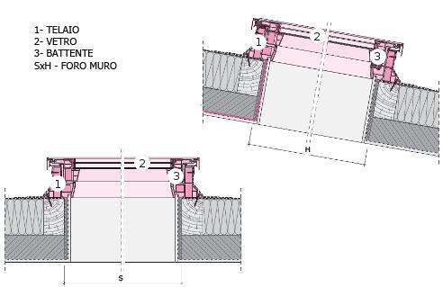 Finestra da tetto o terrazzo piano dxf fakro vendita online for Finestra nel tetto
