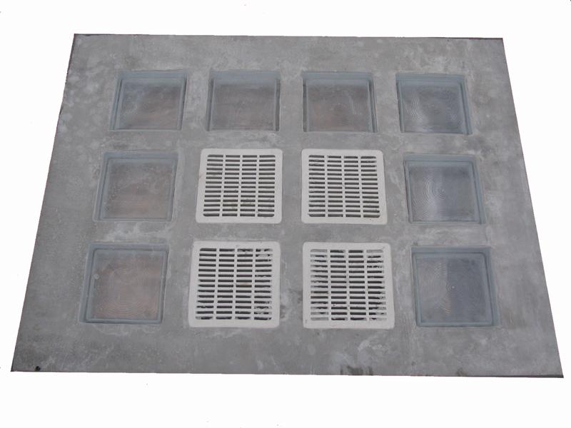 Vetromattone a pavimento con piastre di vetro vendita onlie - Livellatori per piastrelle ...